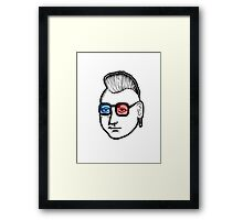 Captain Punk 3D Framed Print