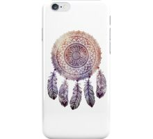 Purple Orange Sunburst Dreamcatcher iPhone Case/Skin