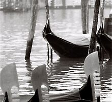 Gondola mornings by Venice