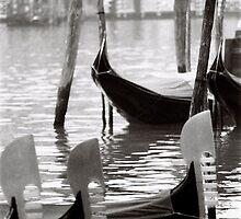 Gondola mornings by Venice