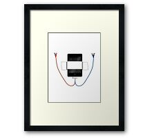 that syncing feeling.. Framed Print