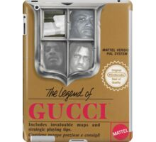 Legend of Gucci iPad Case/Skin