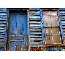 Americana Blue Photographic Print