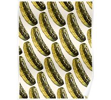 Pickle Pattern Poster