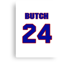 National baseball player Butch Hobson jersey 24 Canvas Print