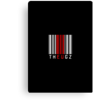 THEUGZ RED BARCODE  Canvas Print