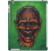Severed Zombie Head iPad Case/Skin