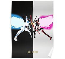 Kill la Kill - Satsuki Vs Ryuko Poster
