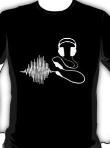 Headphones II White T-Shirt