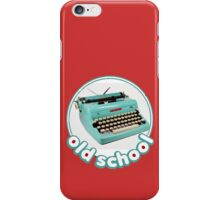 Old school Typewriter iPhone Case/Skin
