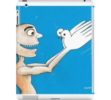 Hand and Pigeon iPad Case/Skin