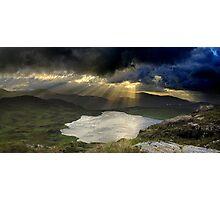 Barley Lake Sunrise Photographic Print