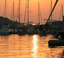 Harbour Sunset by DRWilliams