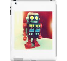 Wind Up Robot iPad Case/Skin