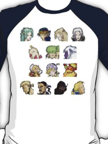 Faces of FFVI T-Shirt
