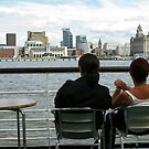 Liverpool Skyline by Mike Paget