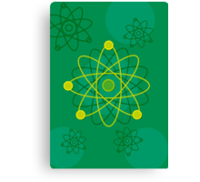 Atomic Structure (Graphic) Canvas Print