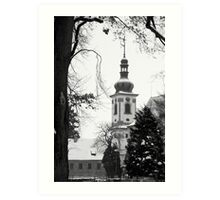 Chapel of the Revelation of the Lord, Smirice, Czech Republic Art Print