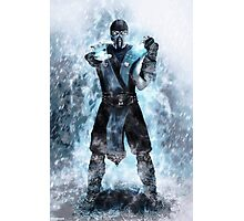 Sub Zero freeze Photographic Print