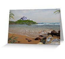 970-Jaguar Beach Greeting Card