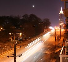 North Ave by Night by hanoe888