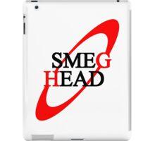 Smeg Head (black font) iPad Case/Skin