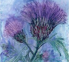 The Thistle by Carol Rowland