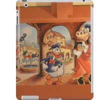 Vintage Disney Animation Donald Duck Mickey Mouse Clarabelle Cow iPad Case/Skin