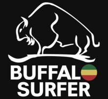 Buffalo Surfer RASTA STK WHT Kids Clothes