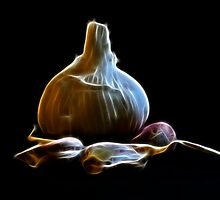 Vampire foetus inside the garlic??? by carregwen