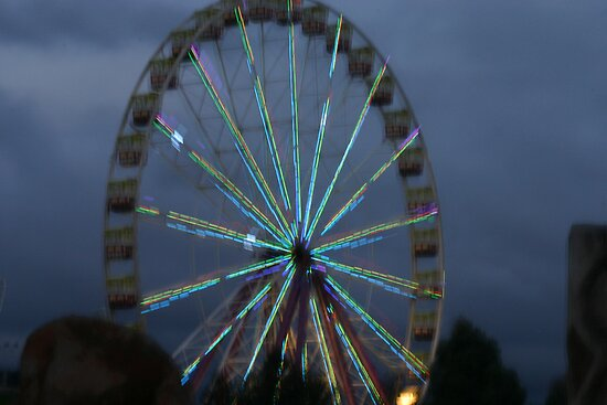 South Bank Ferris Wheel by A boy called Star
