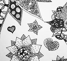 Zentangle Phone Case by Tina Gong