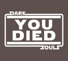 Aren't you a little short for a Darkwraith? - Dark Souls Tee by Sangre