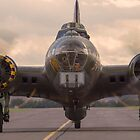 B-17 taxies back by captureasecond