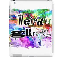 Weird Grrrl iPad Case/Skin