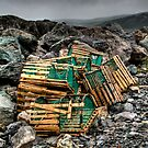 Lobster Pots by Kevin  Kroeker