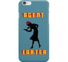 Detective Carter. iPhone Case/Skin
