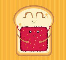 Hug the Strawberry by AlessandroAru