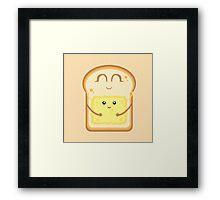 Hug the Butter Framed Print