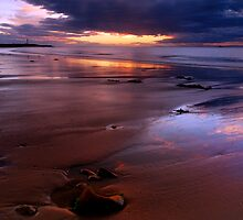 Orange Sands by Jim Robertson