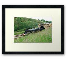 Pickering to Grosmont Steamer Framed Print