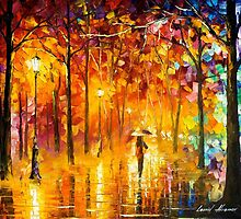 Signals Of Love — Buy Now Link - www.etsy.com/listing/217627364 by Leonid  Afremov
