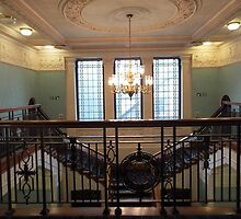 Balcony in Eastwood House, Glasgow by ElsT