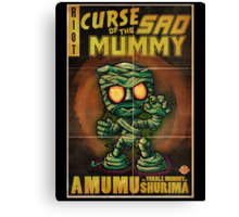Amumu - Curse of the Sad Mummy! Canvas Print