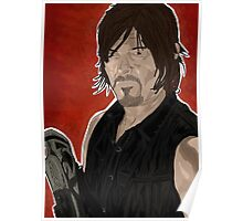 Daryl Dixon The Walking Dead Poster