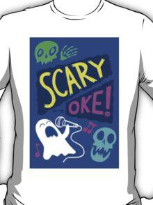 Gravity Falls Scary-Oke Poster T-Shirt