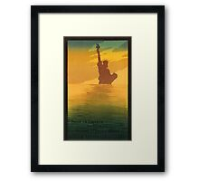 Statue of Liberty (Reproduction) Framed Print