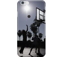 Hoops - Venice Beach iPhone Case/Skin