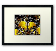 Butterfly Plant Framed Print
