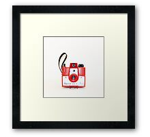 Red Imperial Framed Print
